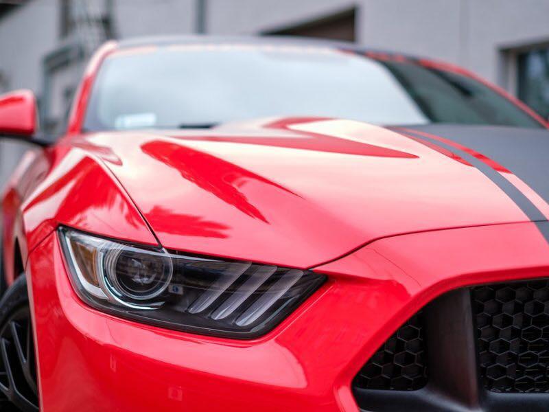 car wash detail mustang